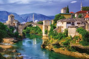 Stari most,Mostar,Bosnie HerzégovineCap vers l'Est, réceptif tourisme, réceptif français, Croatie, Balkans, Danube
