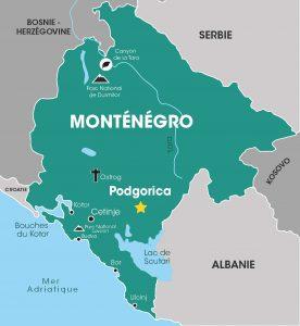 Monténégro, Voyages en groupe, Cap Vers l'Est, Croatie, Balkans, Danube, Tour opérateur
