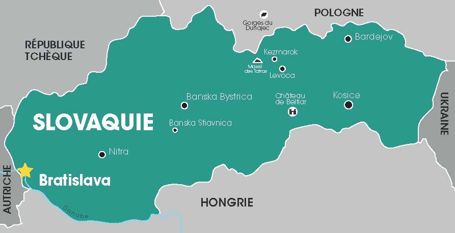 Slovaquie, Cap Vers l'Est, Voyages en groupes, Croatie, Balkans, Danube, Tour opérateur