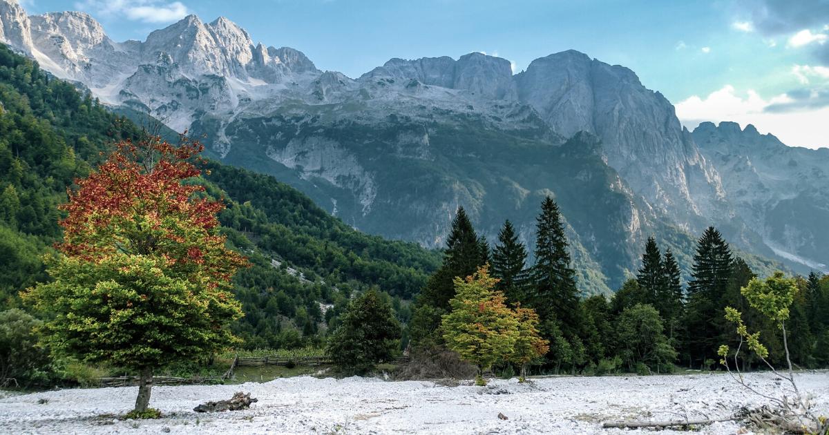 Albanie - Neige - Hiver - Montagnes