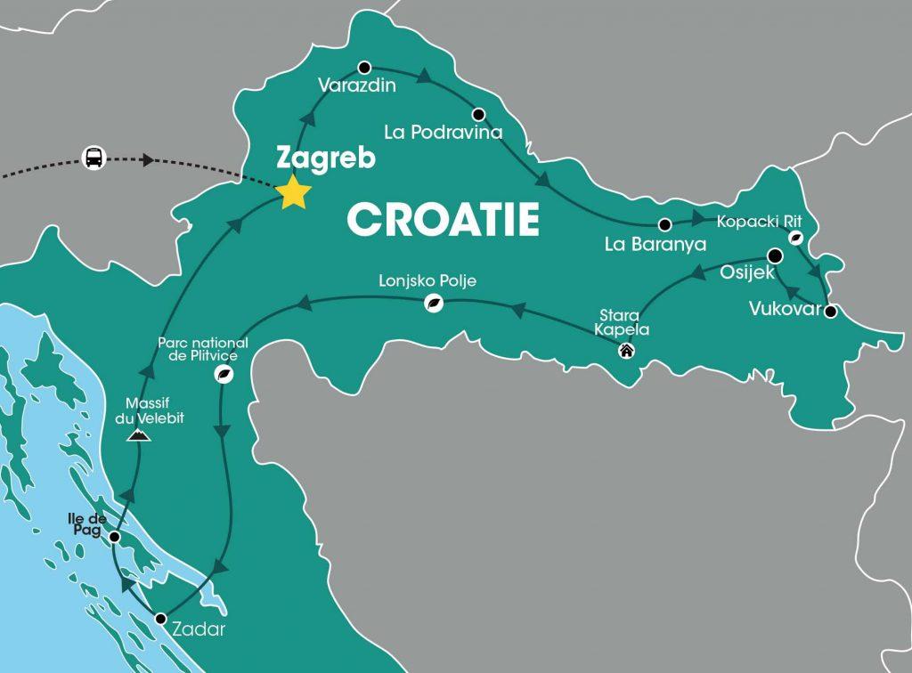Croatie, étonnante et insolite