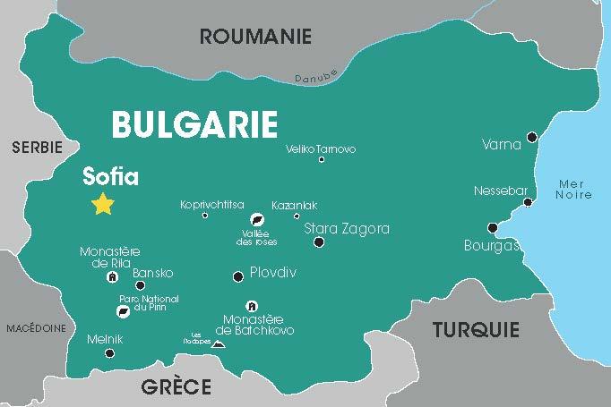 Bulgarie, Cap Vers l'Est, Voyages en Groupe, Croatie, Balkans, Danube, Tour opérateur