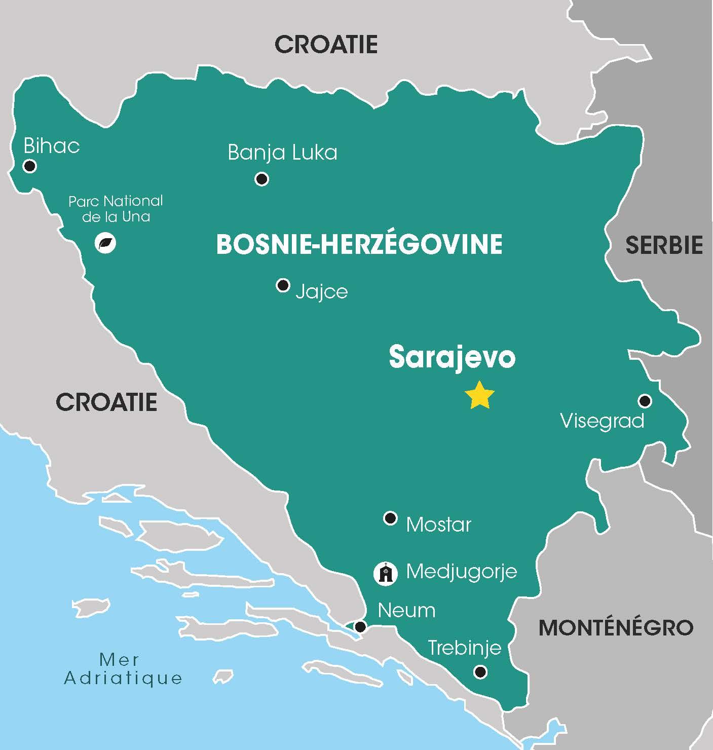 Cap Vers l'Est, Voyages en Groupe, Bosnie, Bosnie-Herzégovine, pays de l'Est