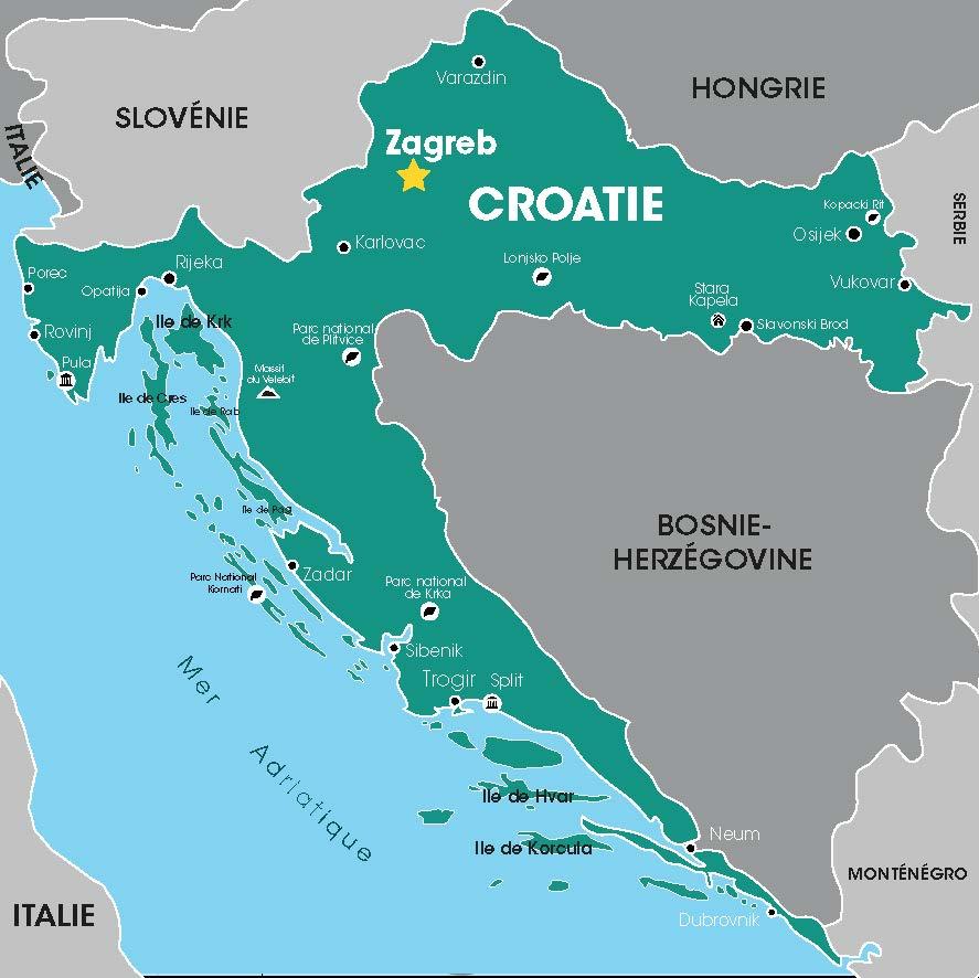 Croatie, Voyages en Groupe, Cap Vers l'Est, Croatie, Balkans, Danube, Tour Opérateur