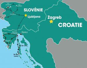 """Résultat de recherche d'images pour """"des alpes slovénie aux iles croates"""""""
