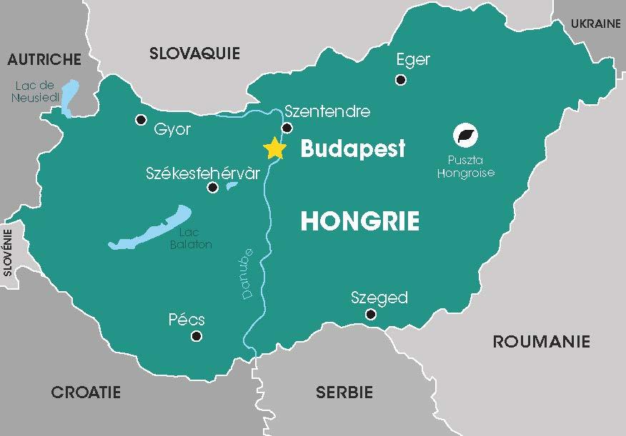Hongrie, Cap Vers l'Est, Voyages en groupes, Croatie, Balkans, Danube, Tour opérateur