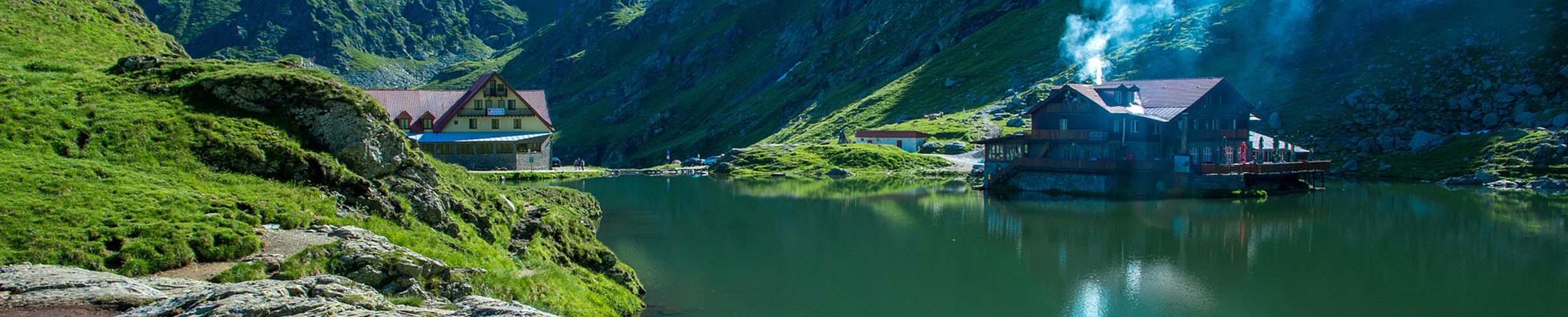 Colorful city of Sibenik panoramic view