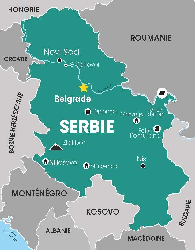 Serbie, Voyages en Groupe, Cap vers l'Est, Croatie, Balkans, Danube, Tour opérateur